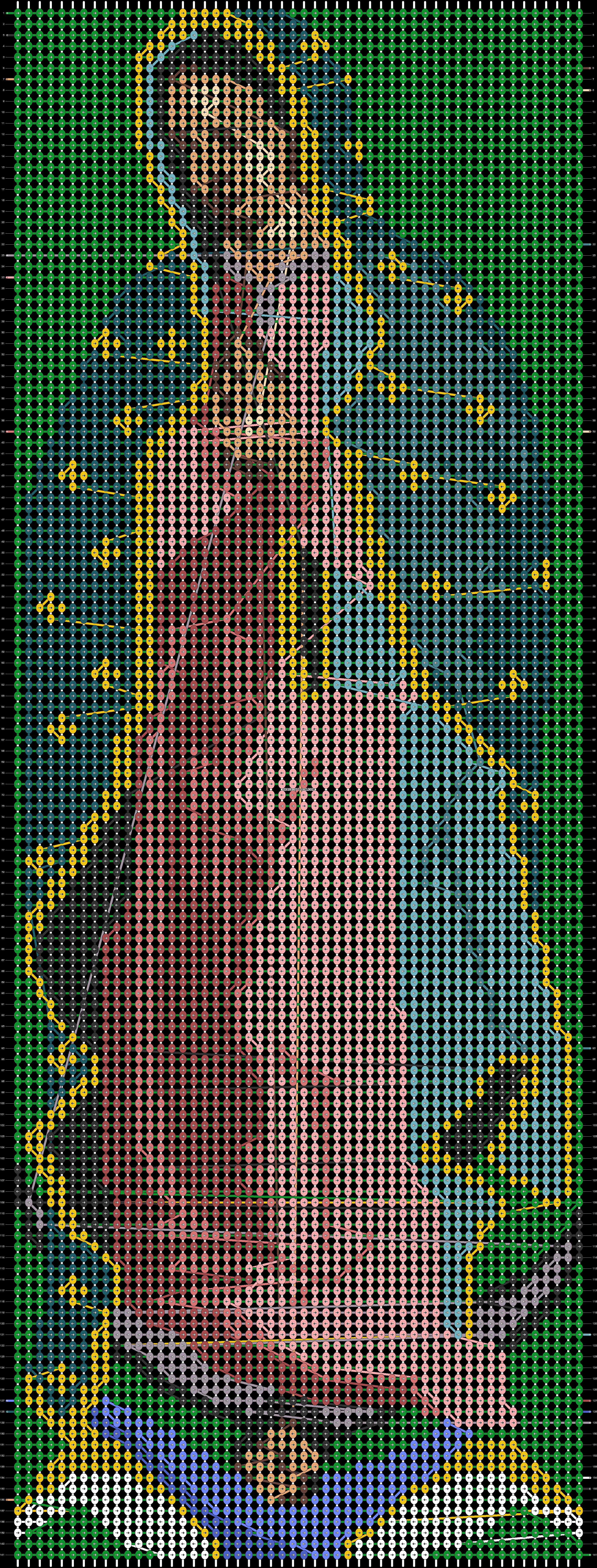 Alpha pattern #66161 pattern