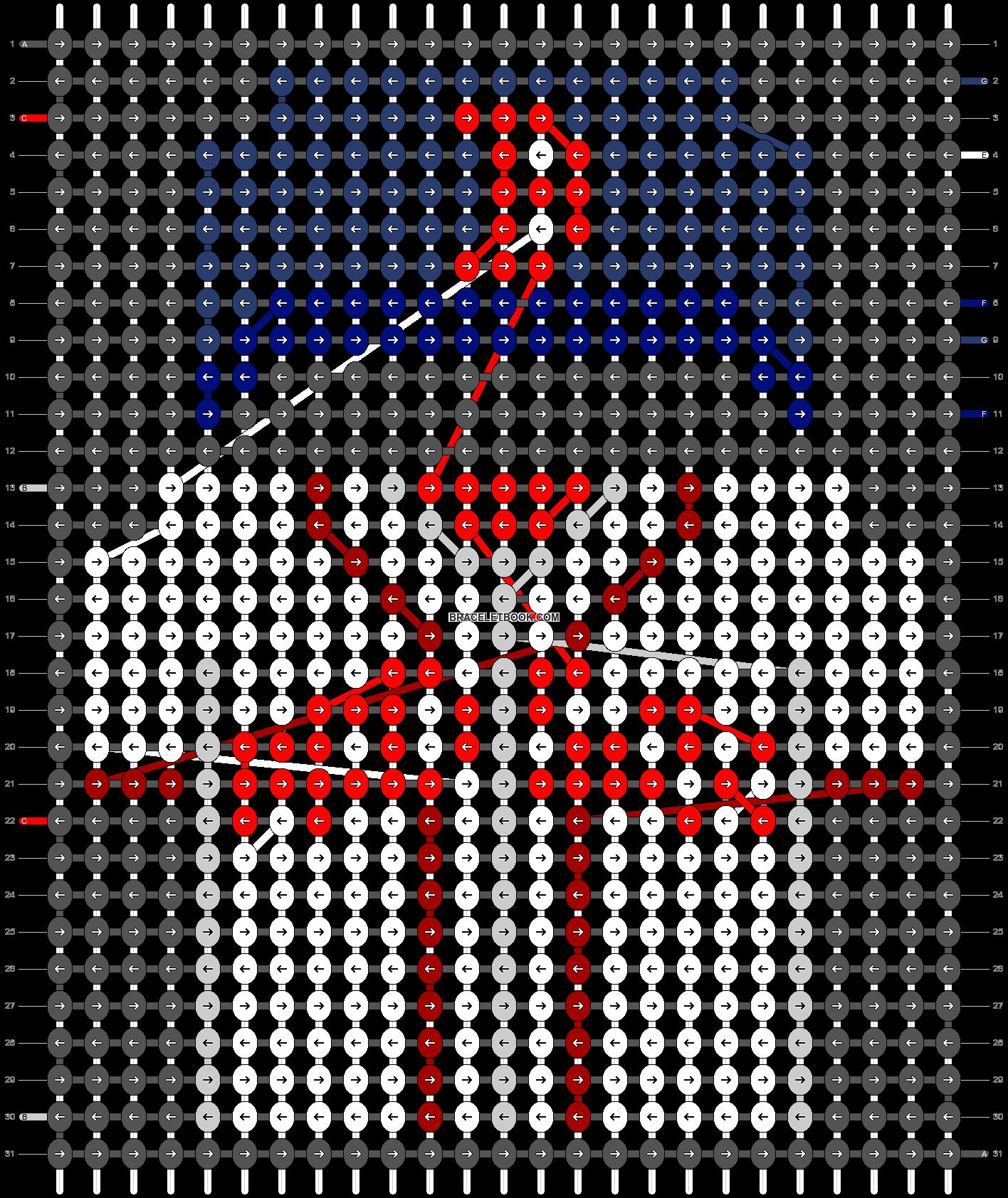 Alpha pattern #66196 pattern