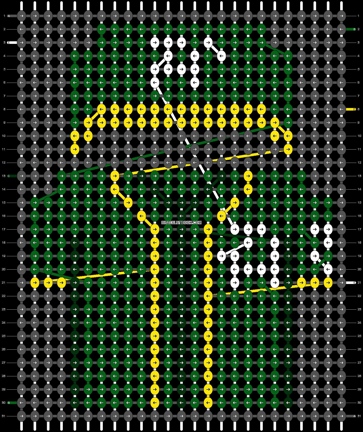 Alpha pattern #66207 pattern