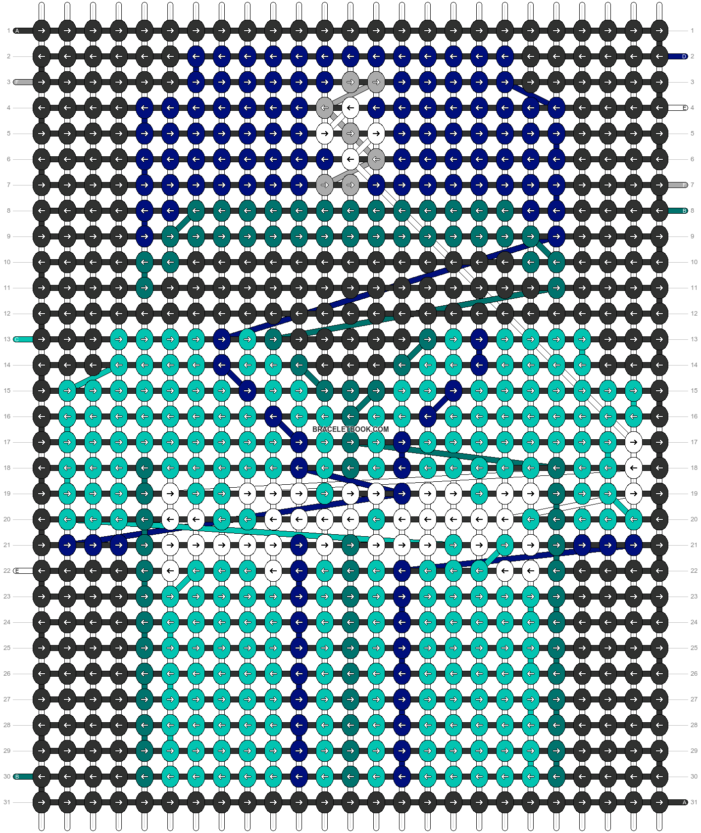 Alpha pattern #66208 pattern