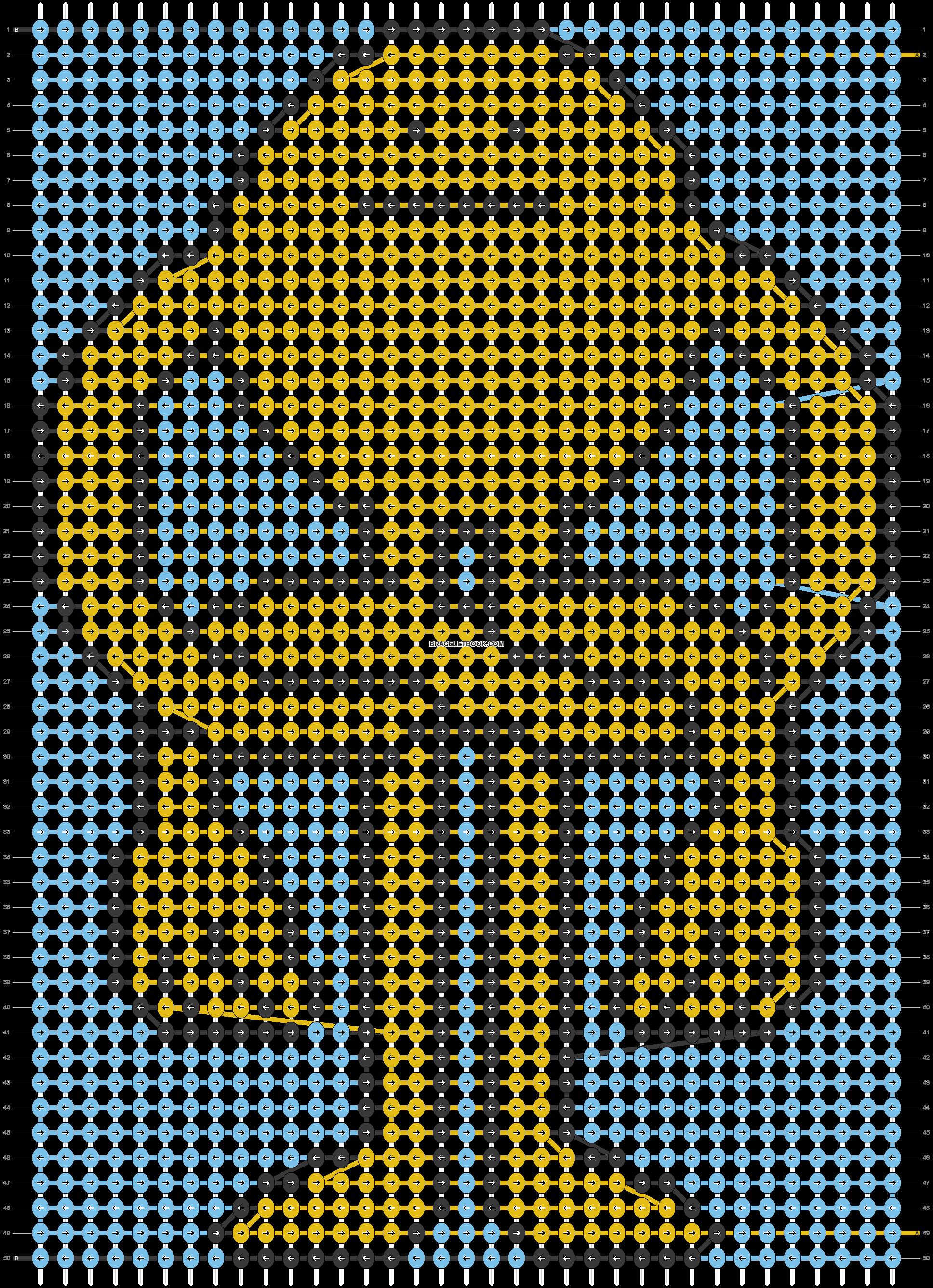 Alpha pattern #66222 pattern