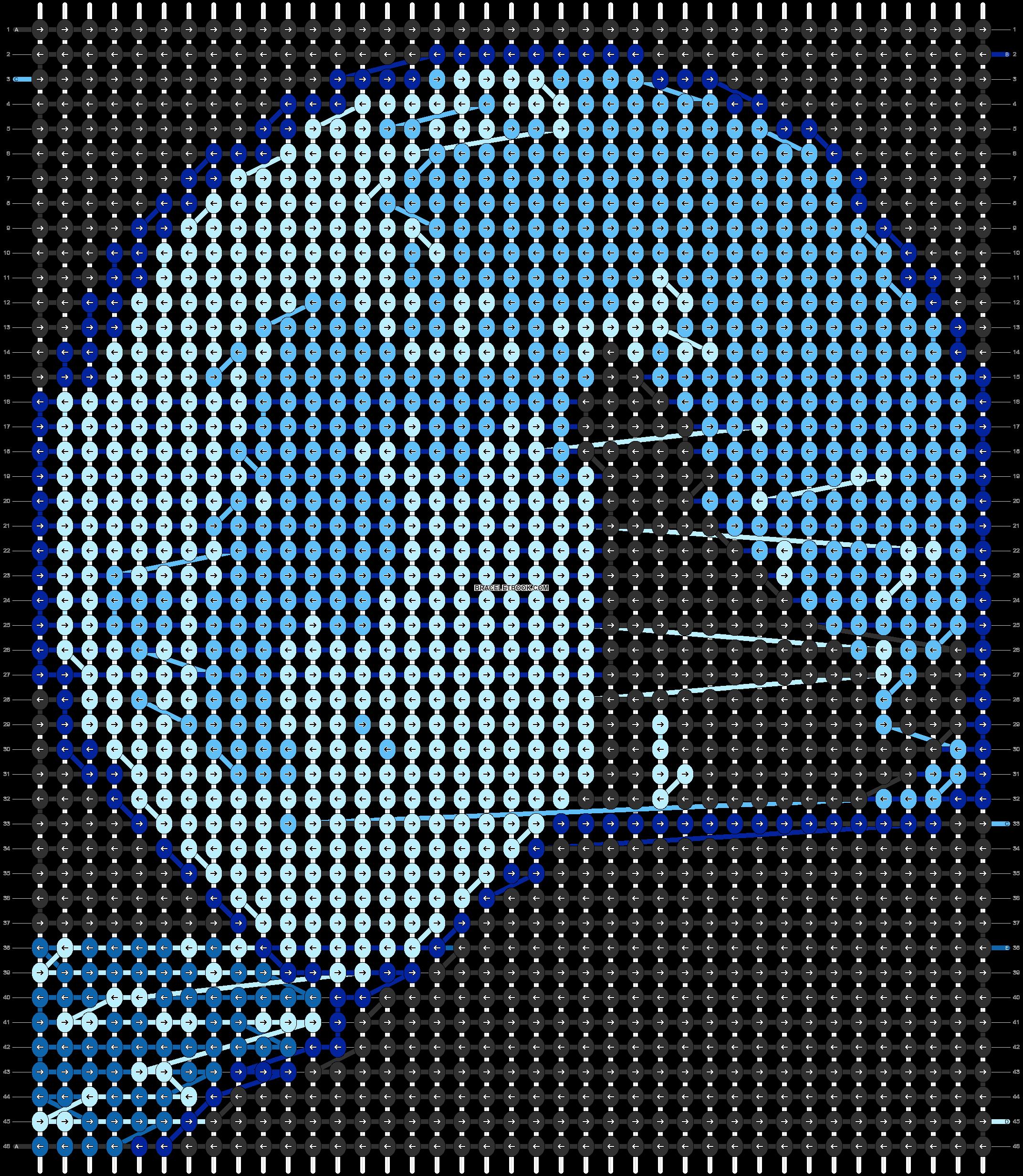 Alpha pattern #66231 pattern