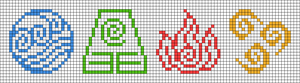 Alpha pattern #66235
