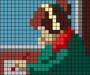 Alpha pattern #66256
