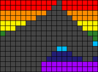 Alpha pattern #66274