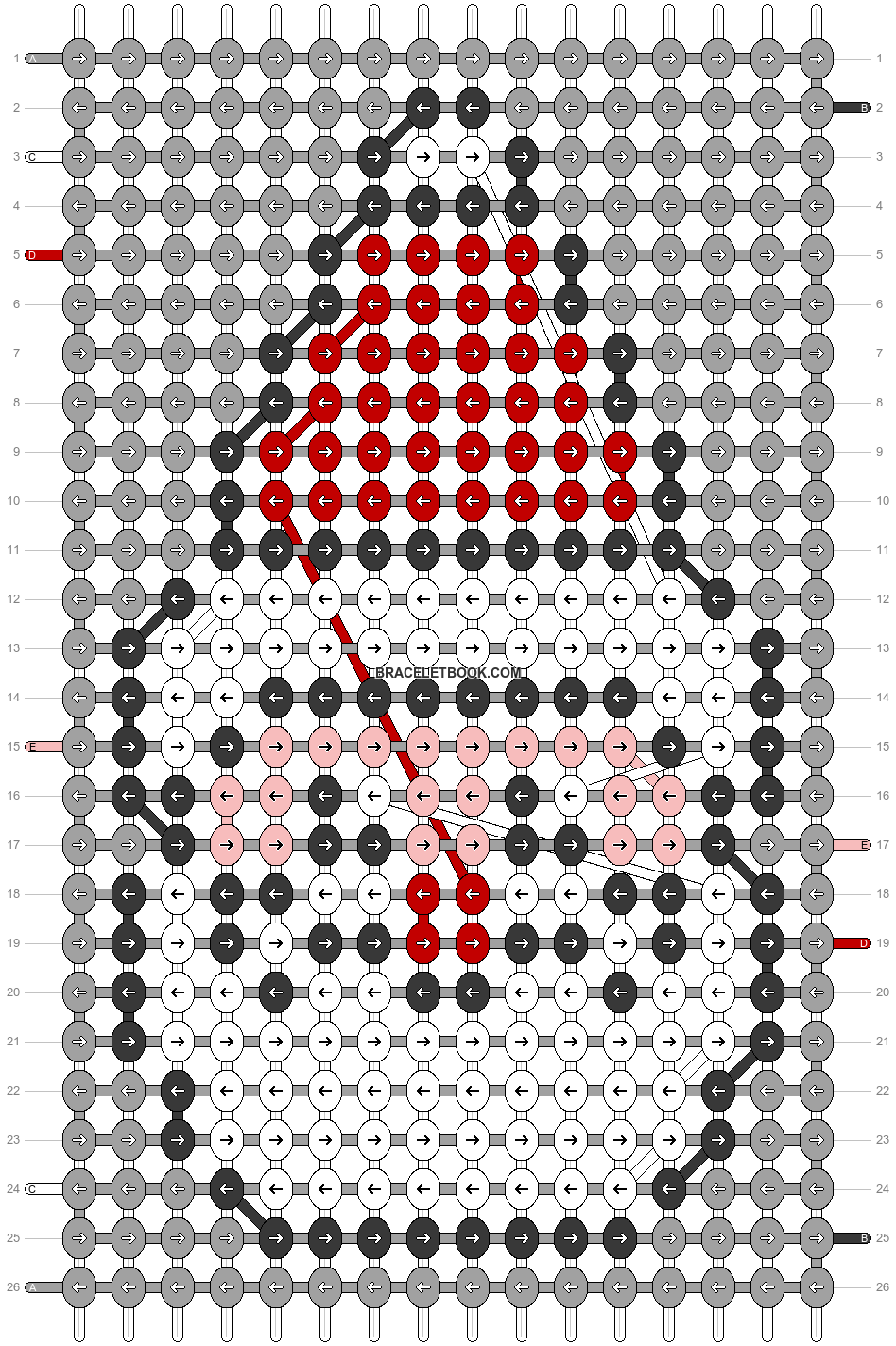 Alpha pattern #66280 pattern