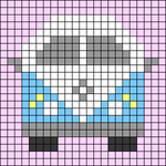 Alpha pattern #66283