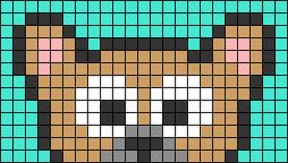 Alpha pattern #66315