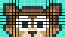 Alpha pattern #66318