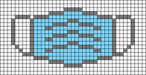 Alpha pattern #66333