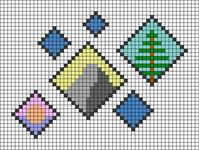 Alpha pattern #66339