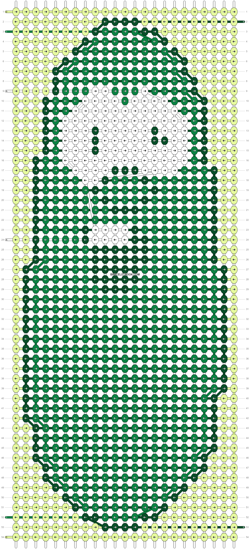 Alpha pattern #66340 pattern