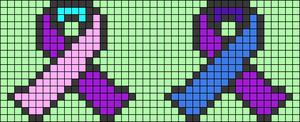 Alpha pattern #66357