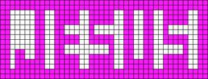 Alpha pattern #66365