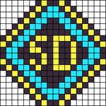 Alpha pattern #66367