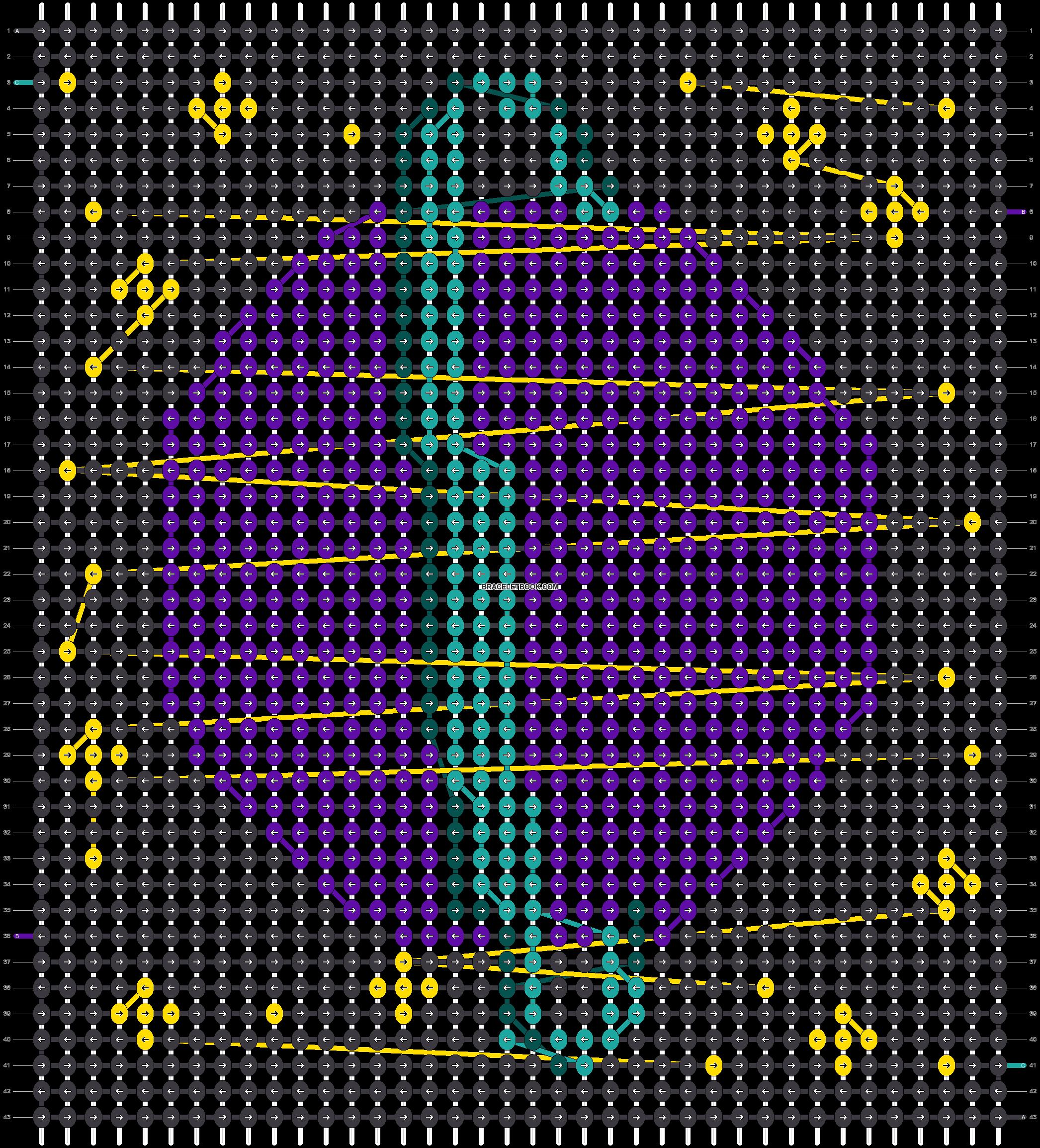 Alpha pattern #66368 pattern