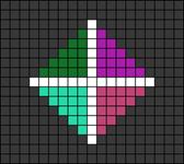 Alpha pattern #66370
