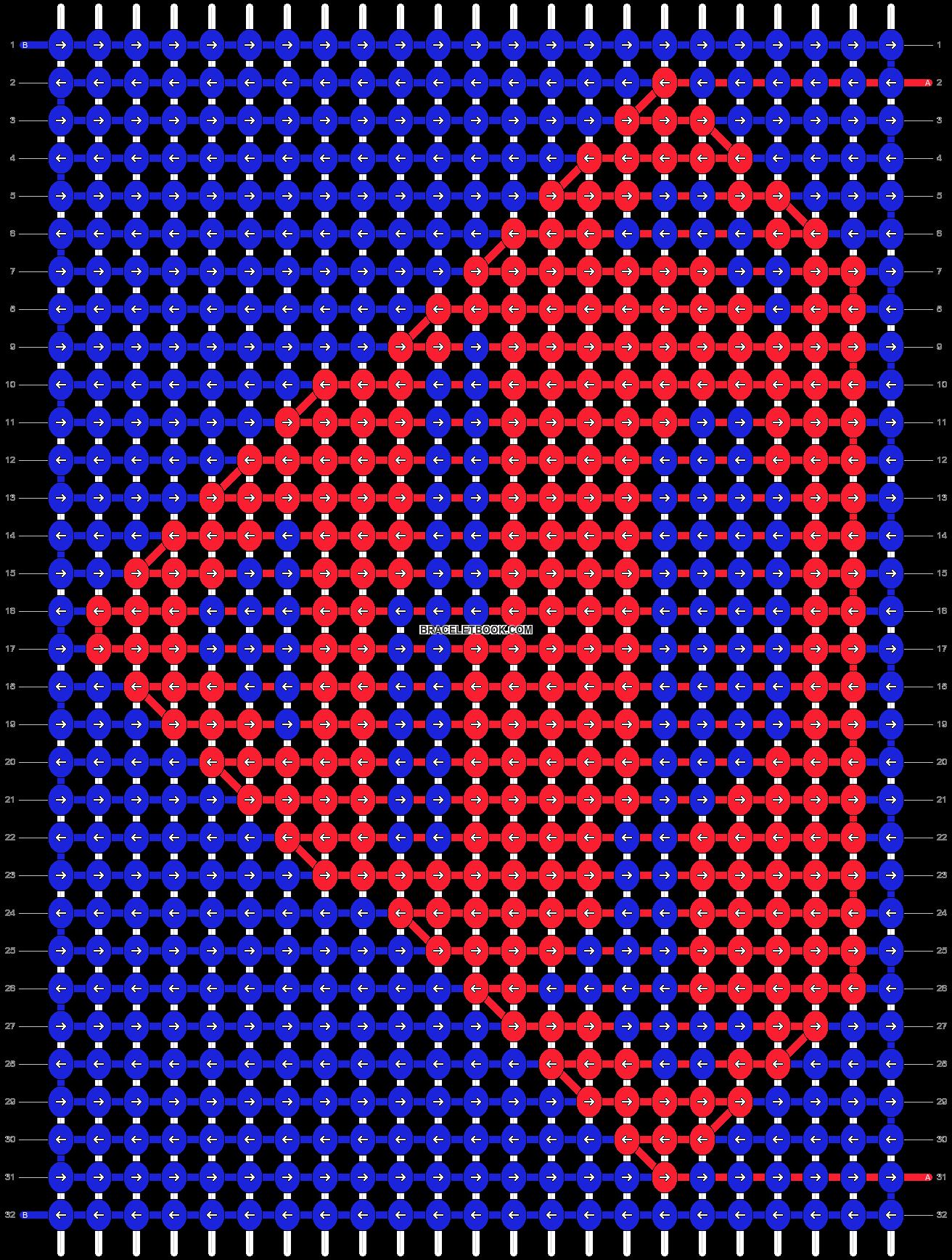 Alpha pattern #66390 pattern