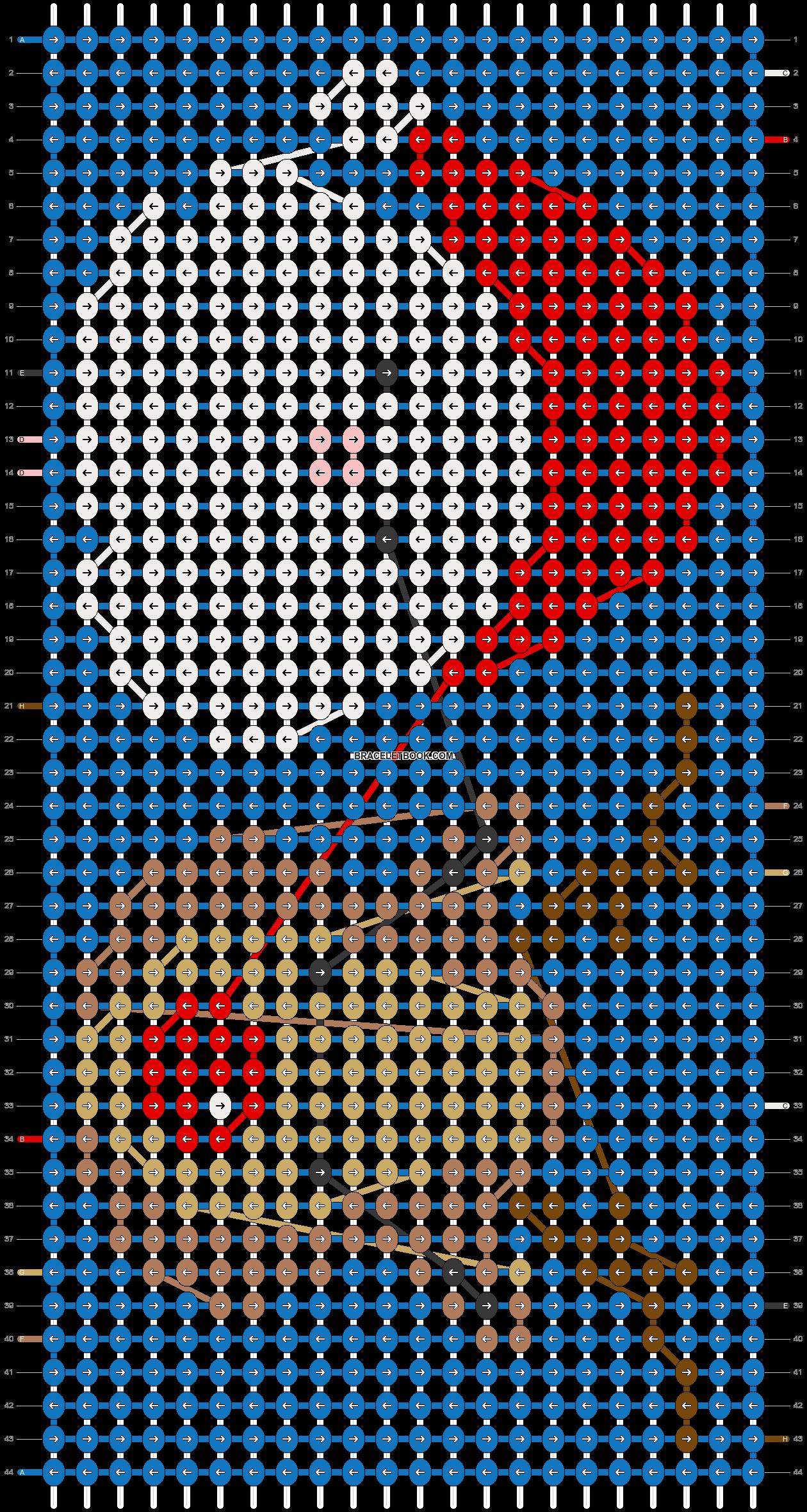 Alpha pattern #66392 pattern