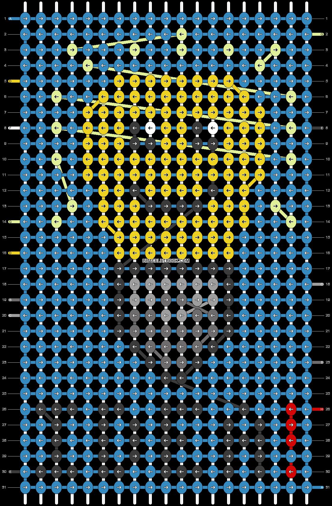 Alpha pattern #66397 pattern