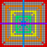 Alpha pattern #66415