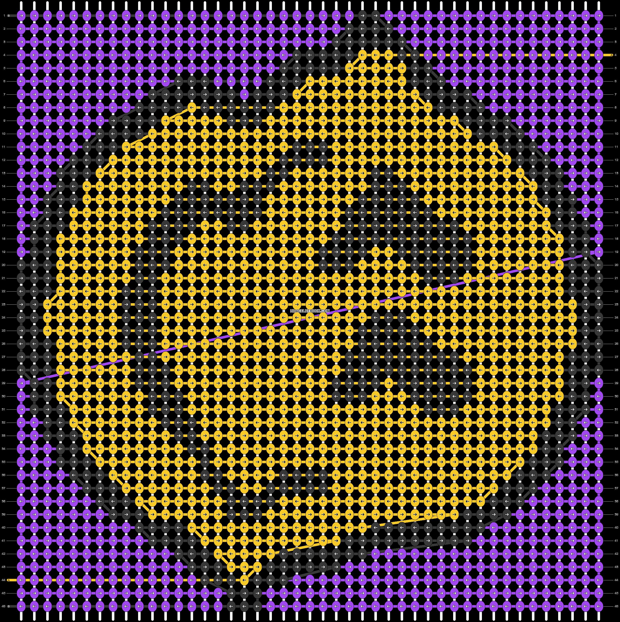 Alpha pattern #66420 pattern