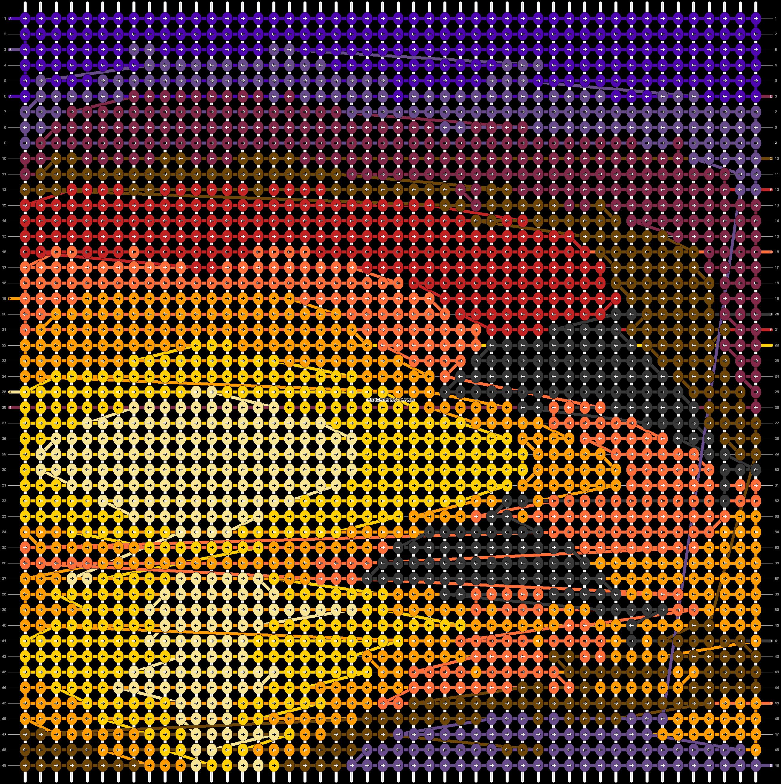 Alpha pattern #66426 pattern