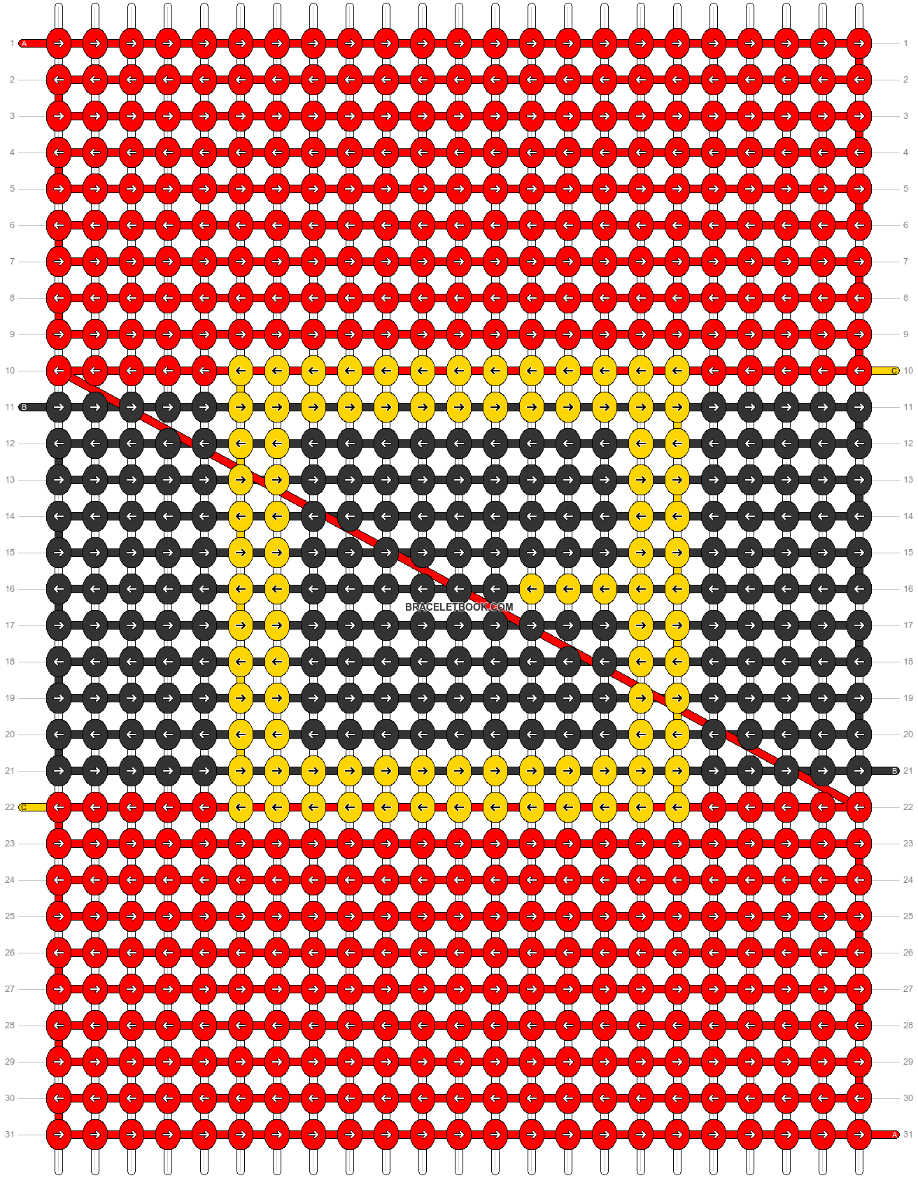 Alpha pattern #66427 pattern