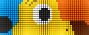 Alpha pattern #66439