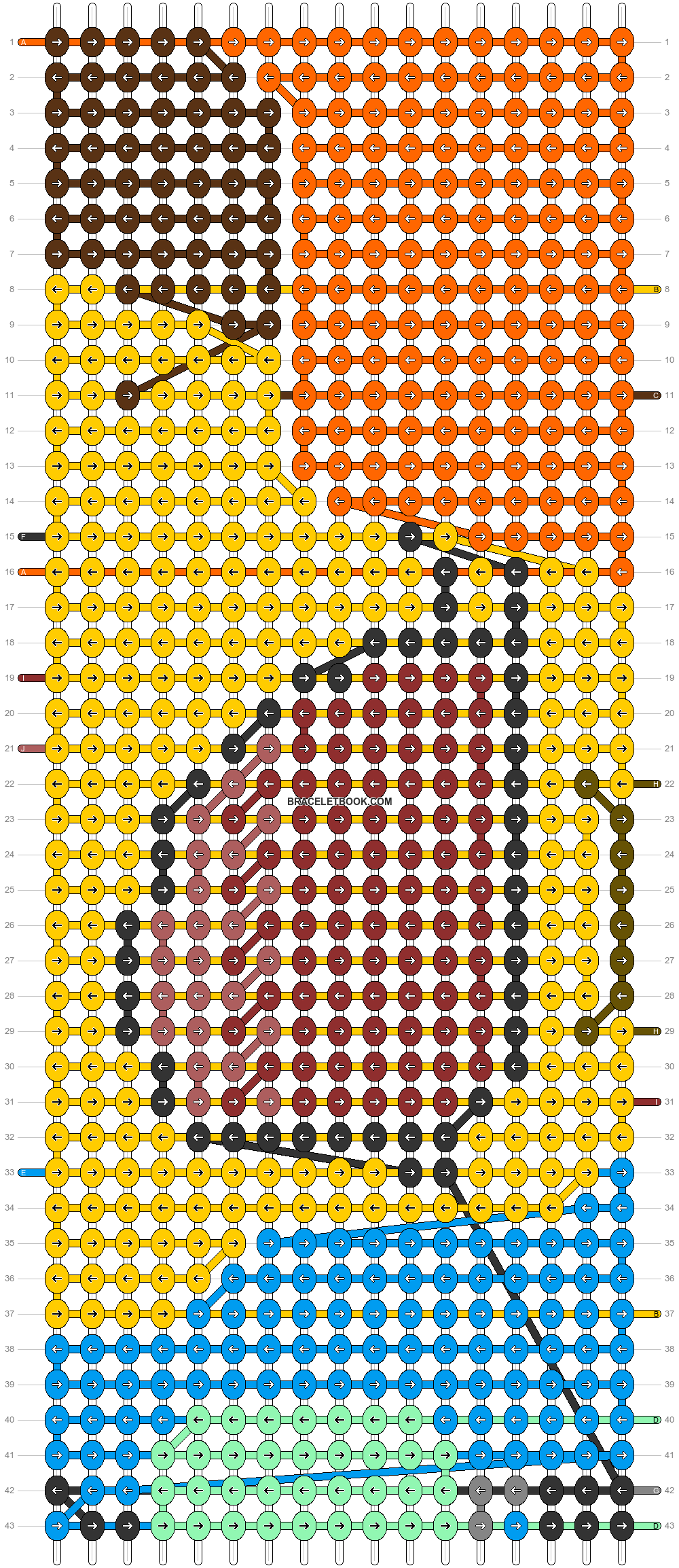 Alpha pattern #66440 pattern
