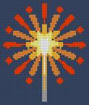 Alpha pattern #66459