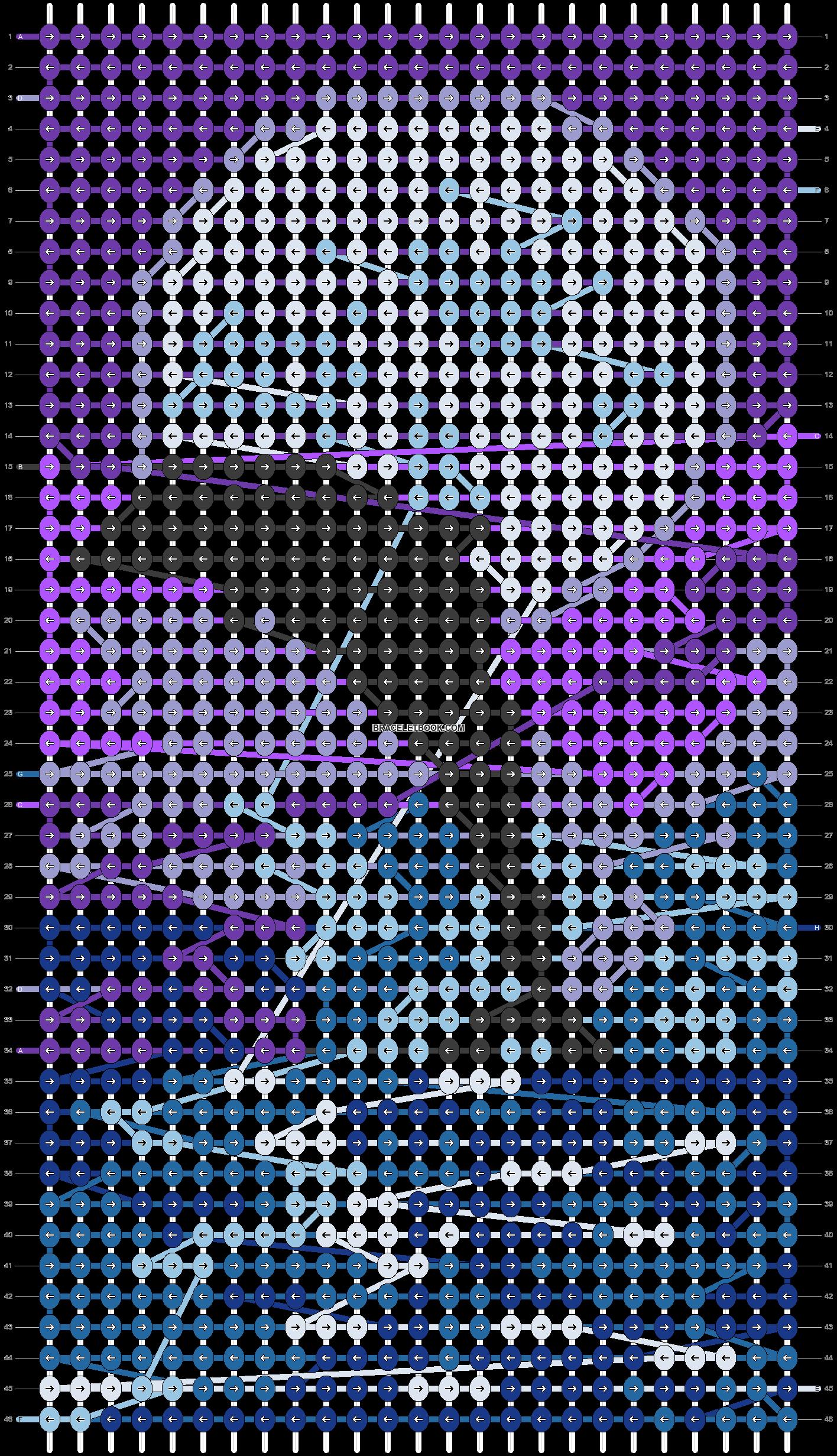 Alpha pattern #66460 pattern