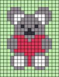 Alpha pattern #66462