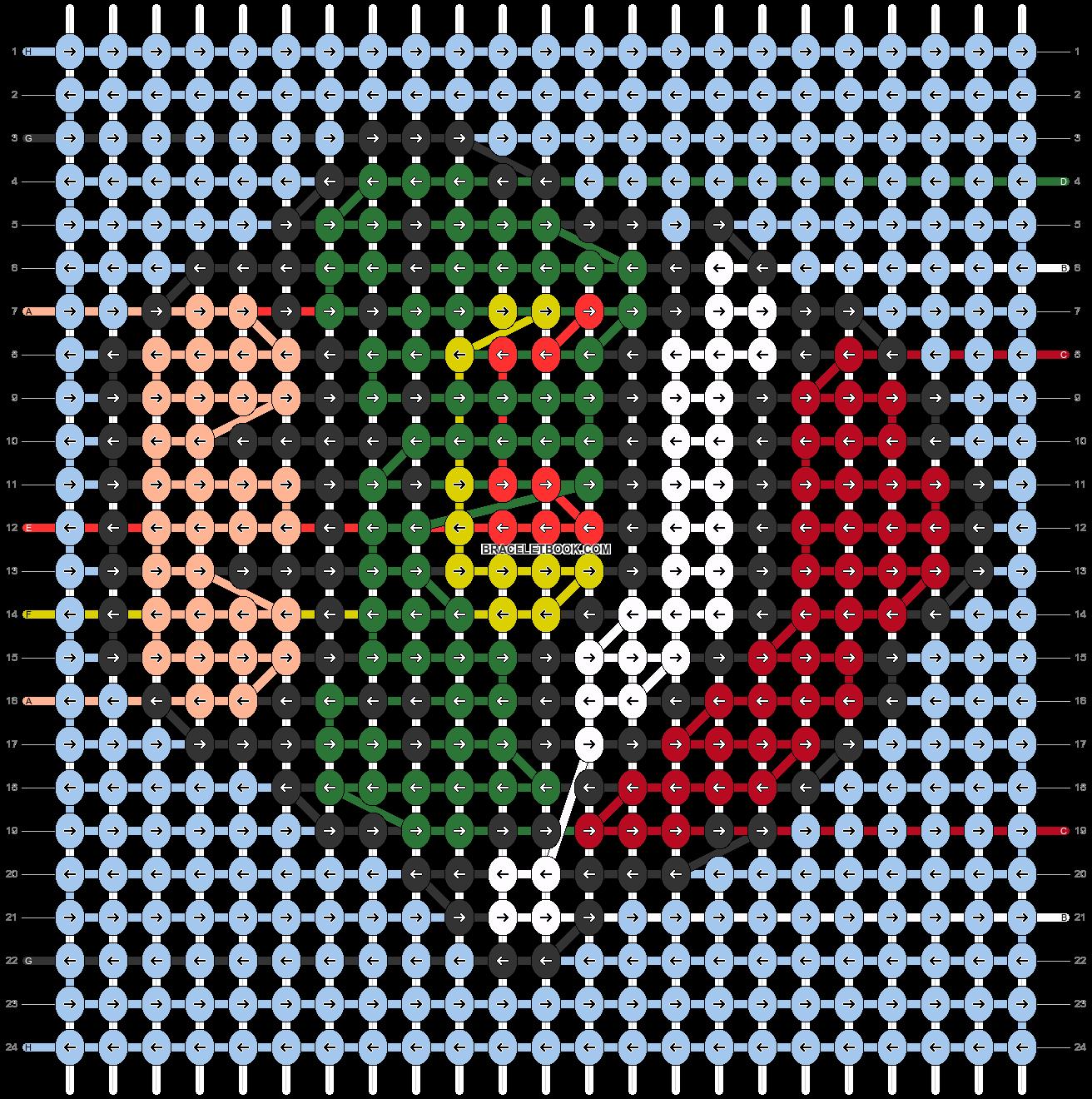 Alpha pattern #66467 pattern