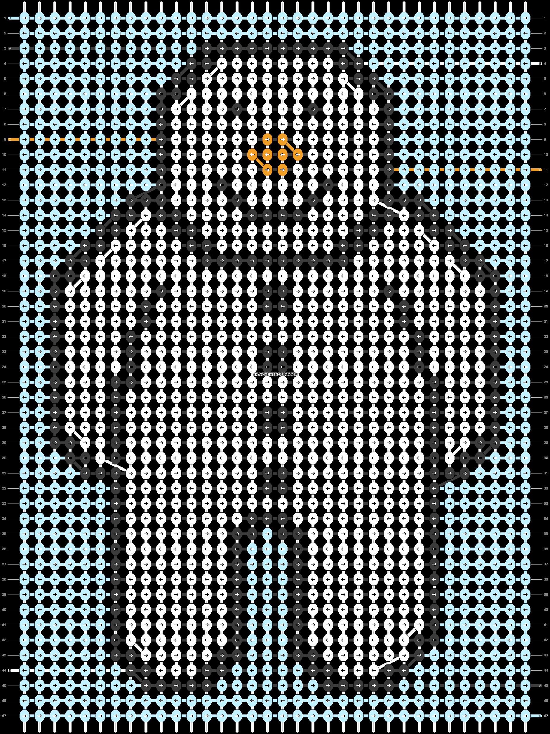 Alpha pattern #66500 pattern