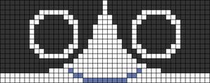 Alpha pattern #66519
