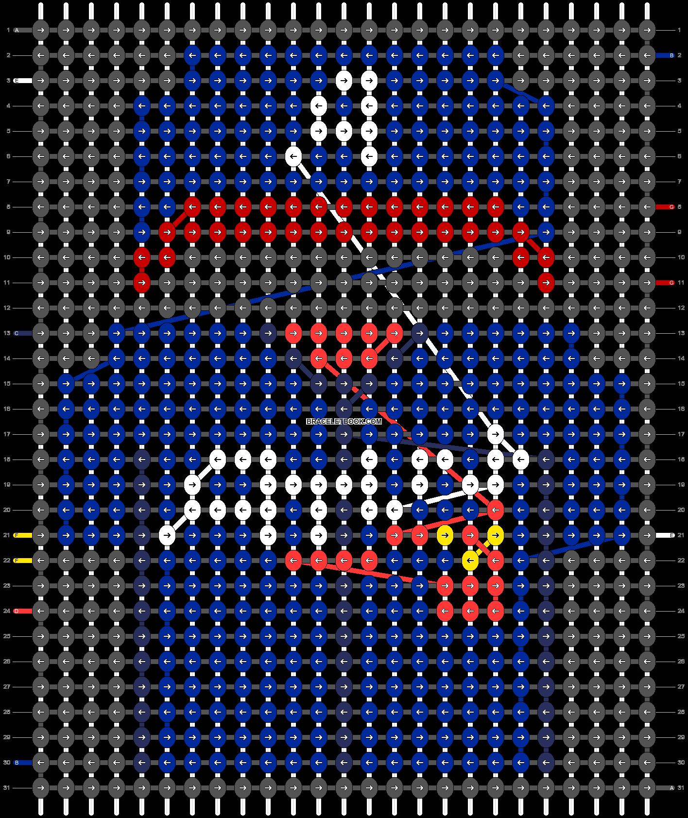 Alpha pattern #66528 pattern