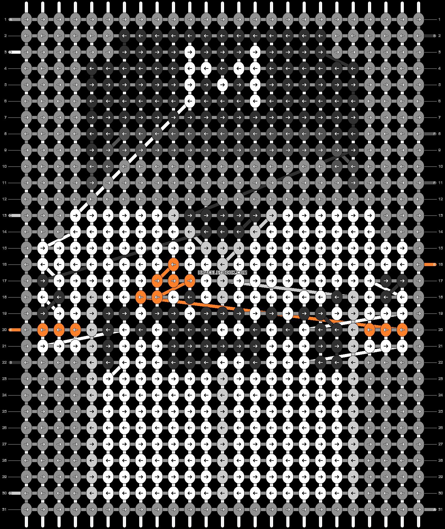 Alpha pattern #66529 pattern