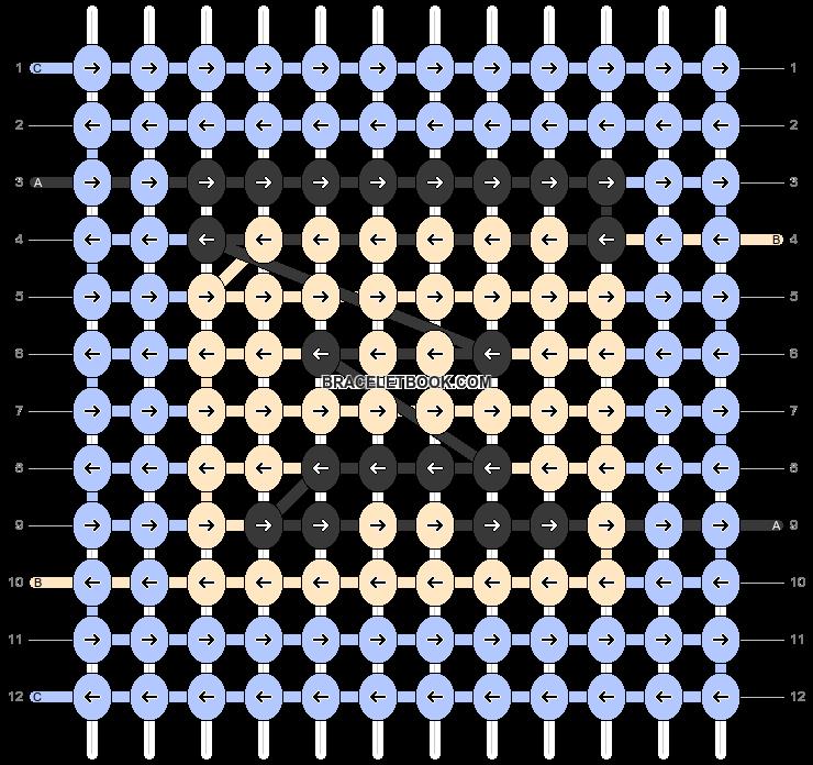 Alpha pattern #66534 pattern