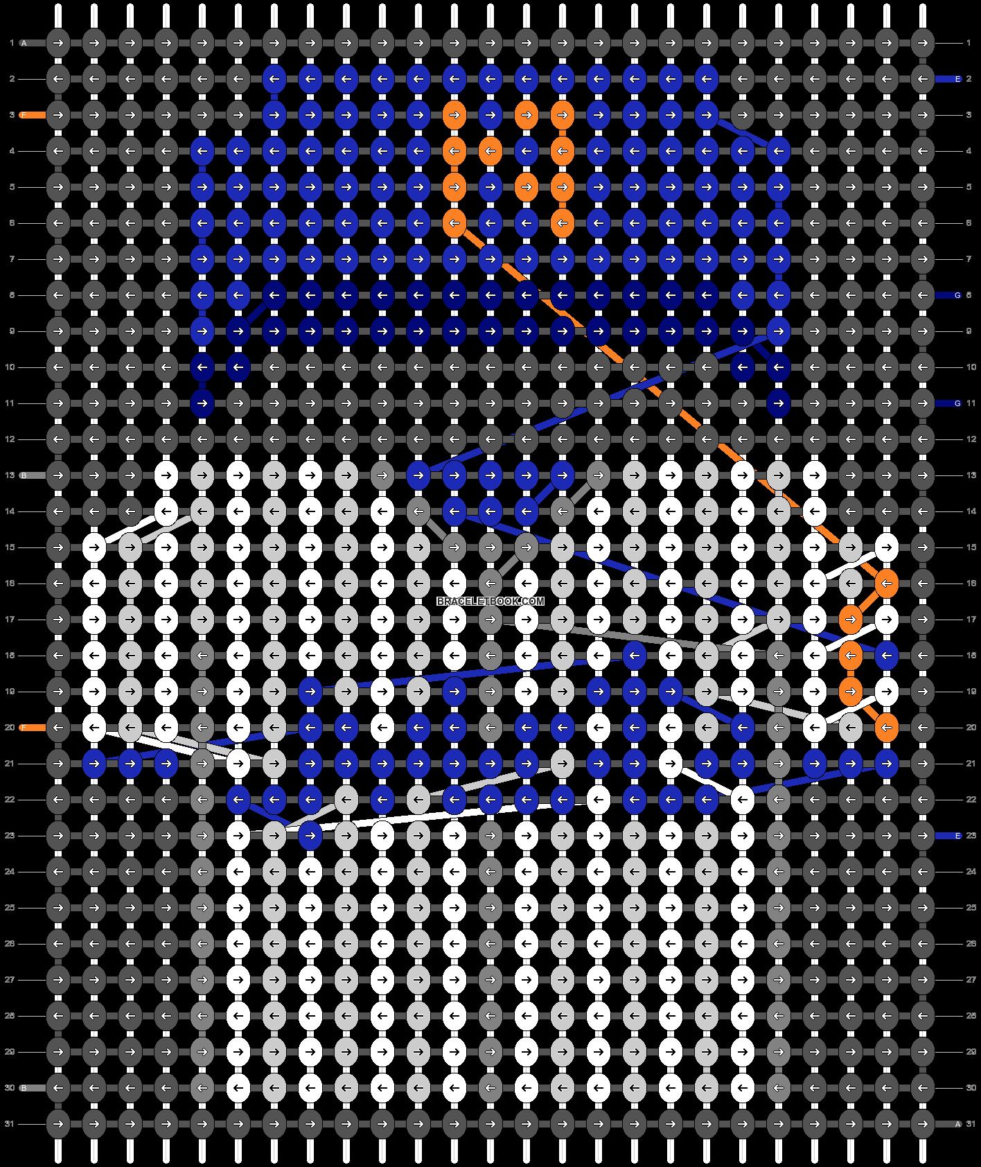 Alpha pattern #66541 pattern
