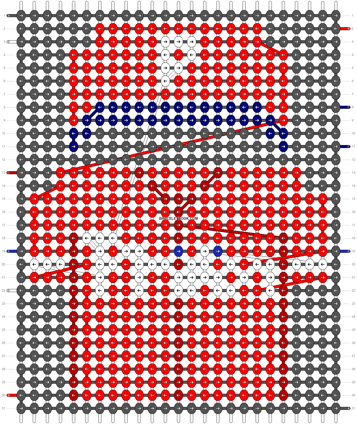 Alpha pattern #66542 pattern