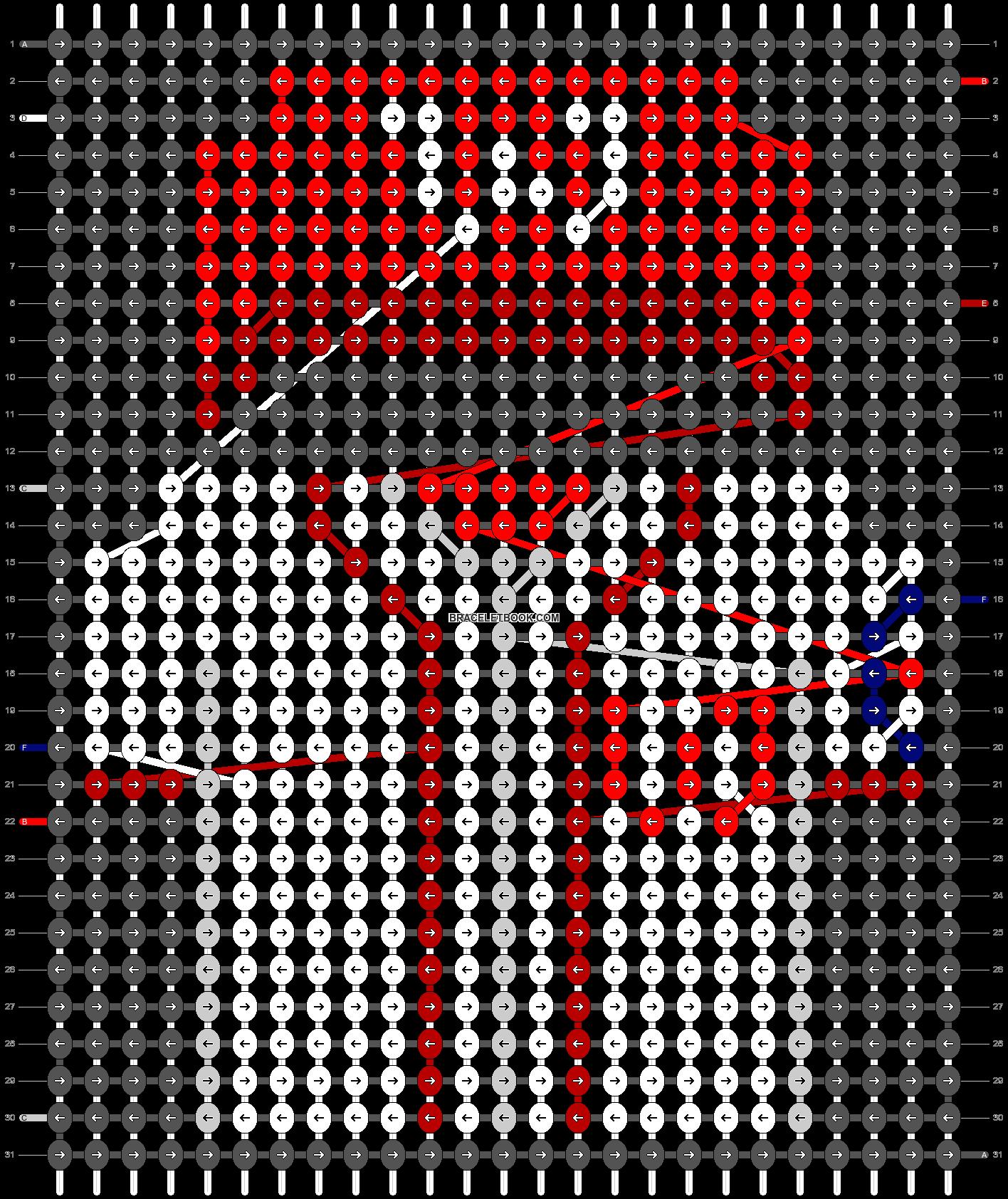 Alpha pattern #66543 pattern