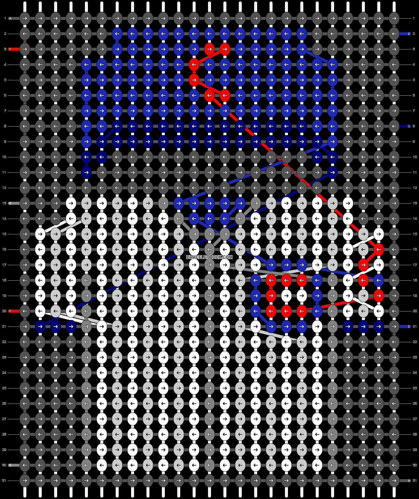 Alpha pattern #66544 pattern