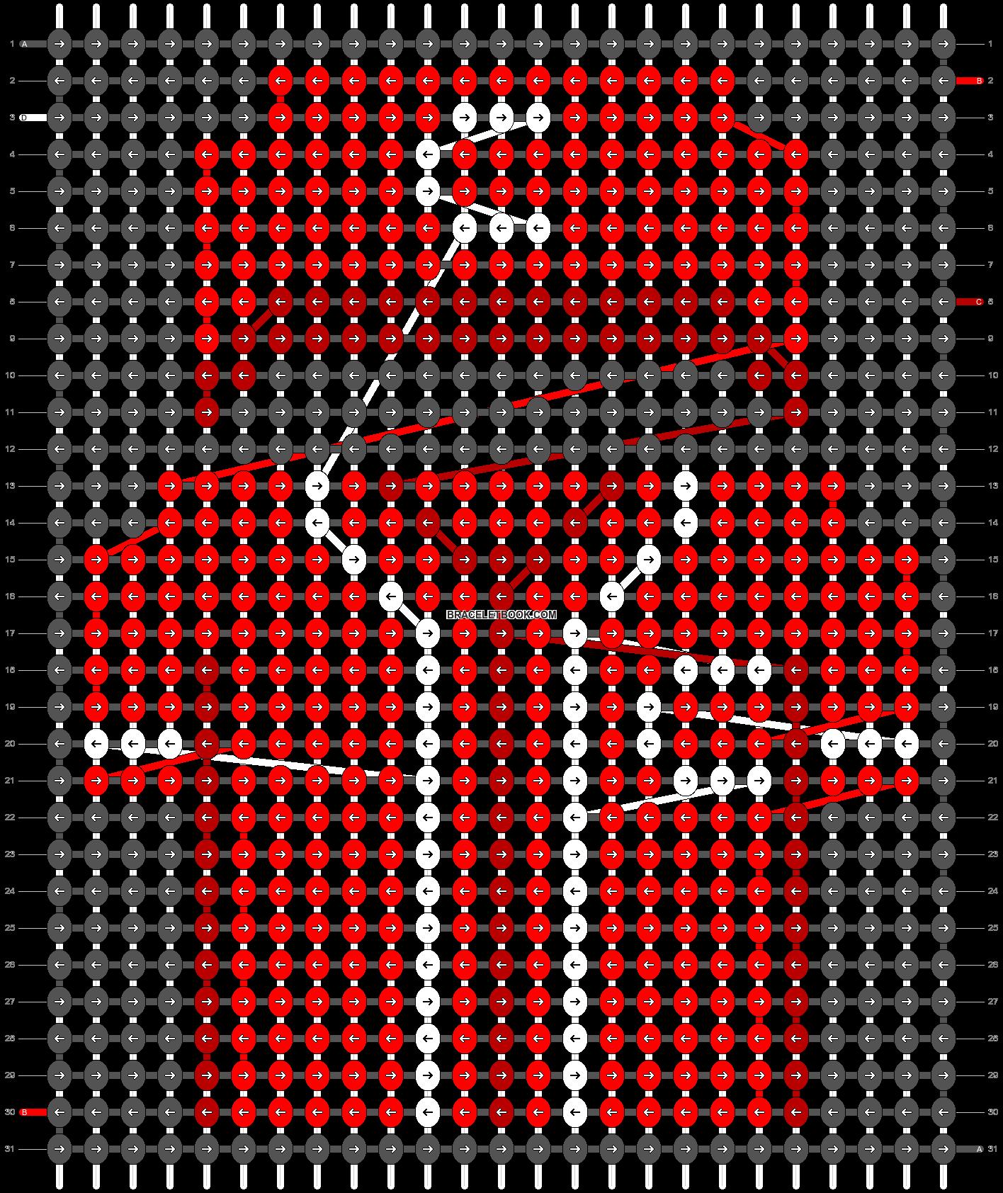 Alpha pattern #66545 pattern