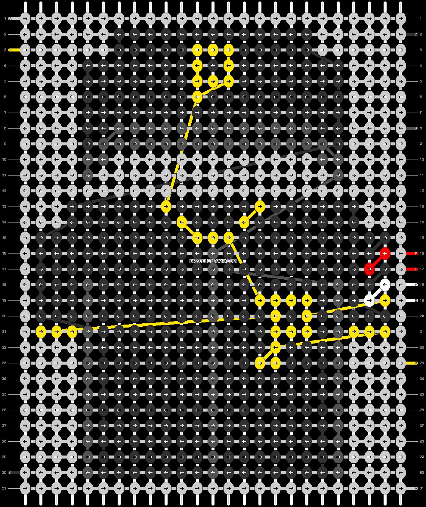 Alpha pattern #66547 pattern