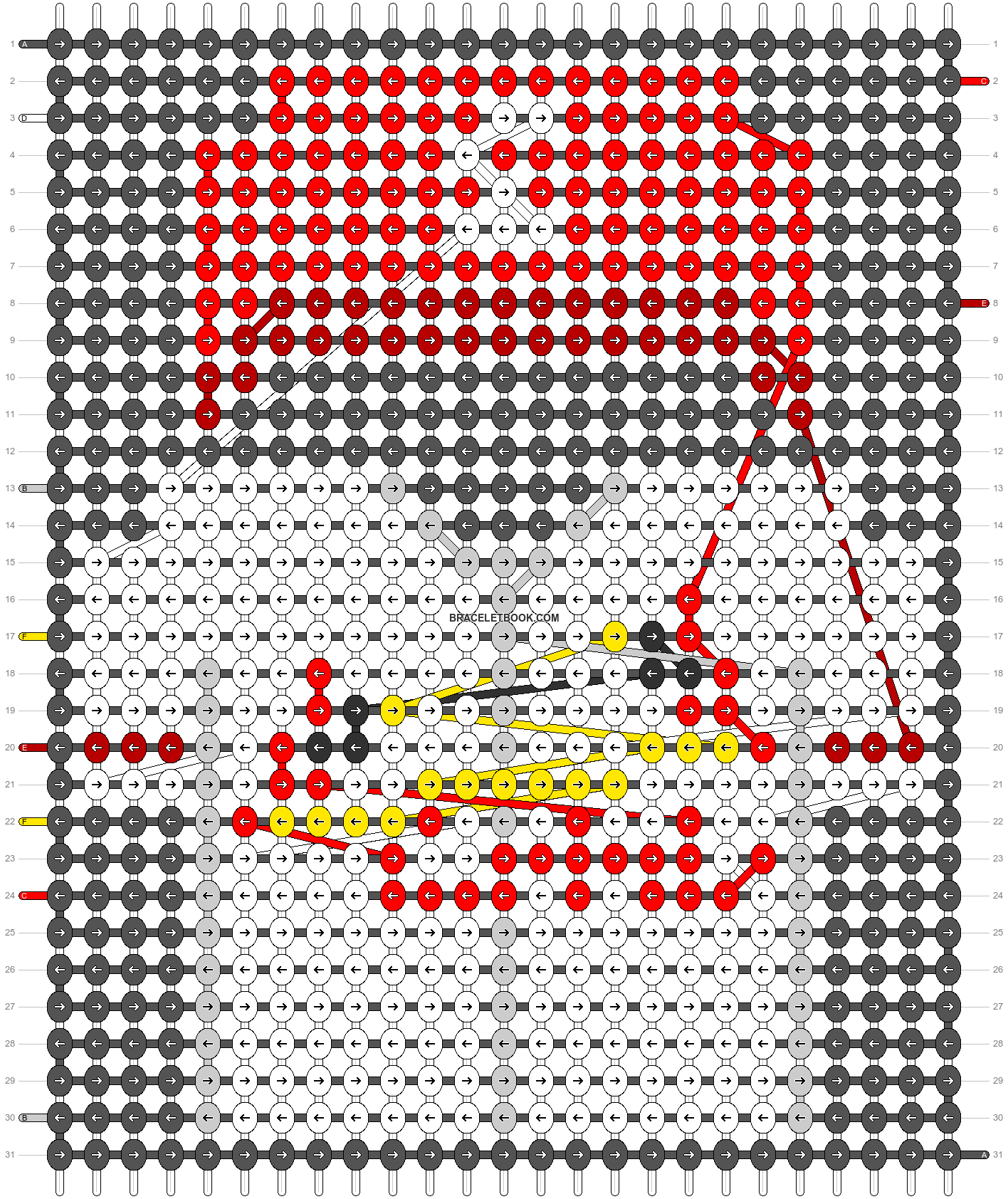 Alpha pattern #66548 pattern
