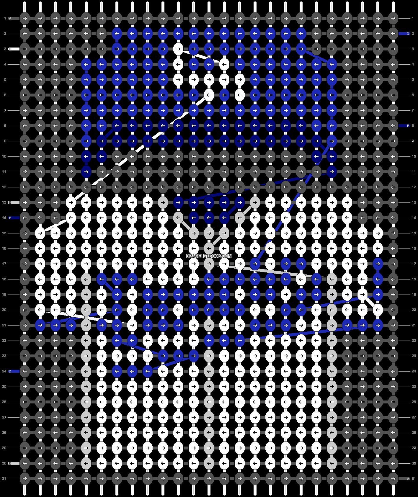 Alpha pattern #66551 pattern