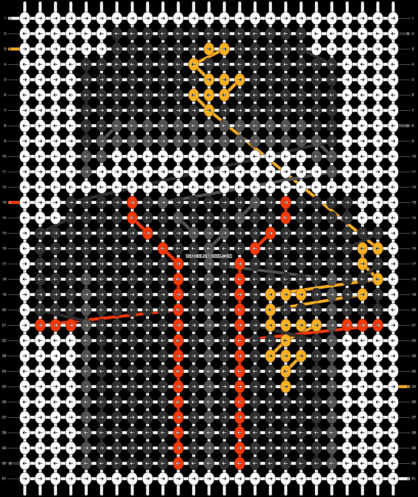 Alpha pattern #66553 pattern