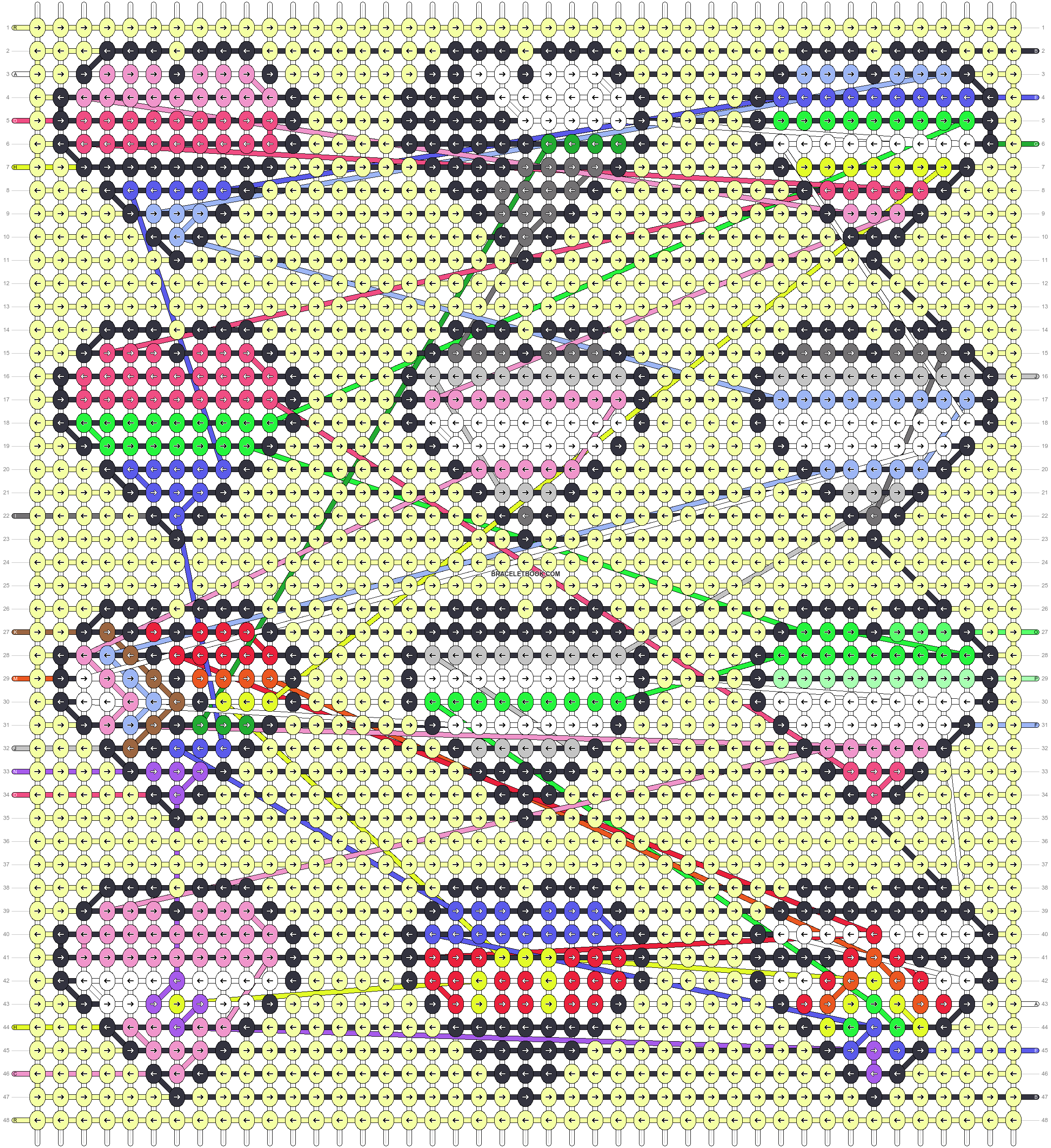 Alpha pattern #66574 pattern