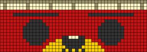 Alpha pattern #66589